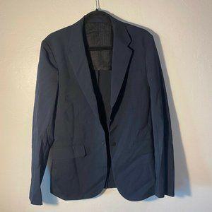 Sandro NAVY BLUE Long Sleeve Blazer Women's Sz 8